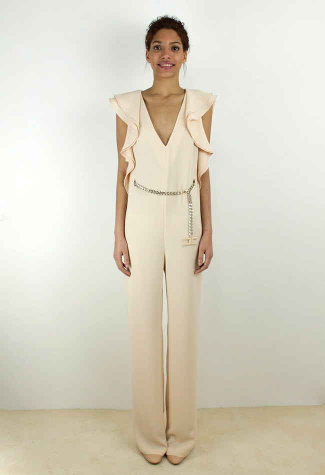 Image of NUDE JUMPSUIT