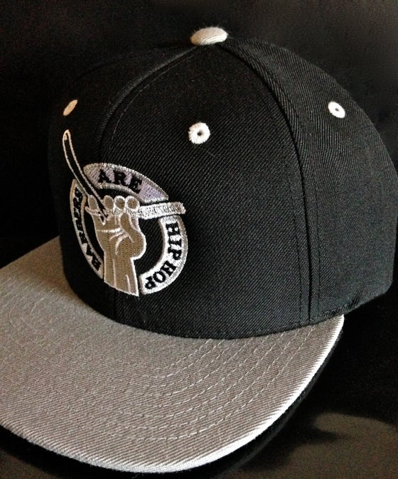Image of Black & Gray Barbers Are Hip Hop Snapback Hat