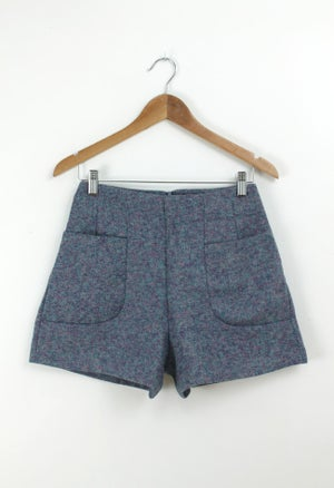 Image of BLUE IRIS SHORTS