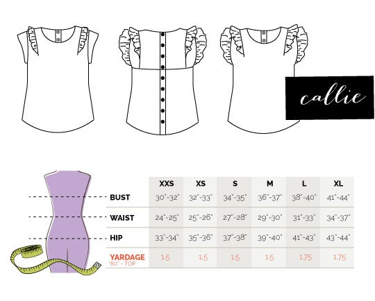 Image of the CALLIE top