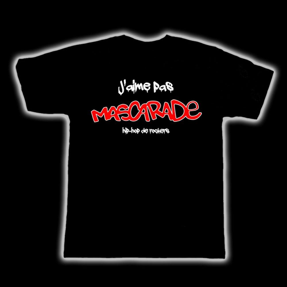 "Image of T-shirt ""J'aime pas MASCARADE"""