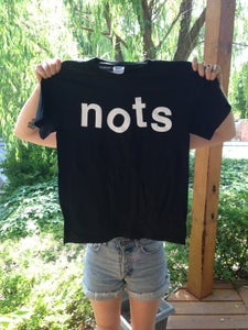 Image of NOTS LOGO T - BLACK AND WHITE