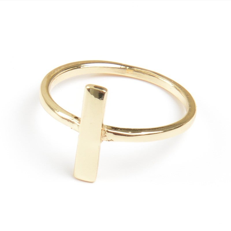 Image of Gold Bar Ring