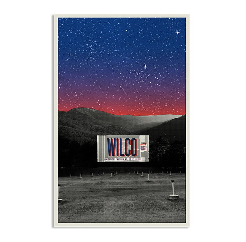 Image of Wilco at the Drive-In, Missoula Montana