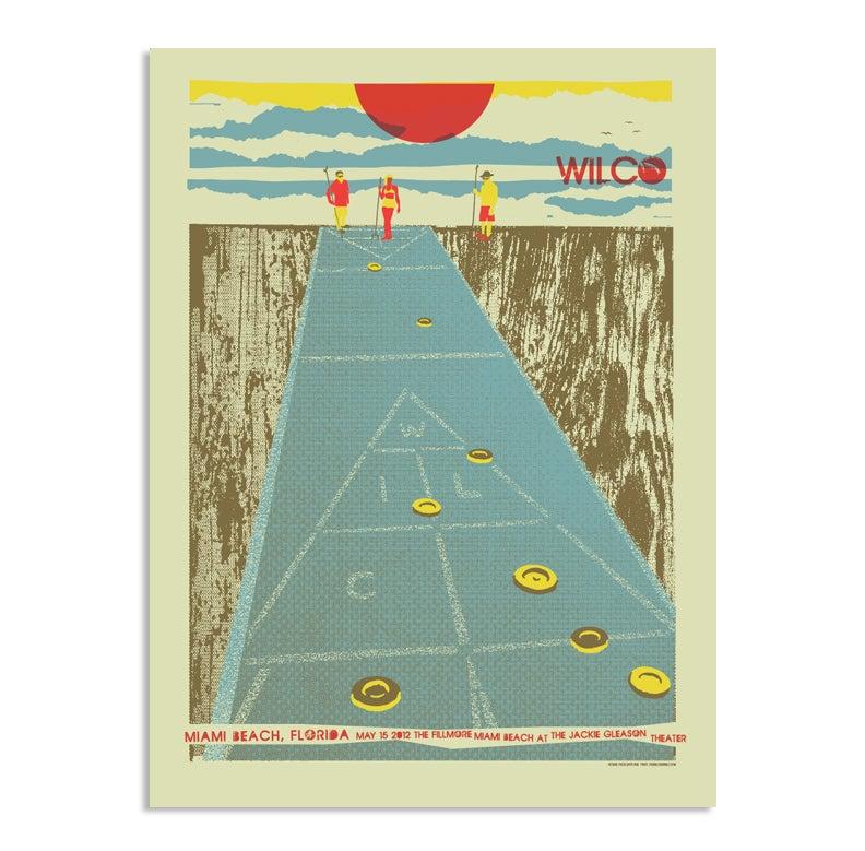 Image of Wilco Miami Poster