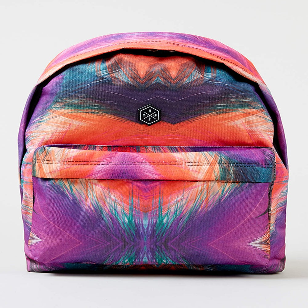 Image of HYPE. TRIBAL FEATHER BACKPACK