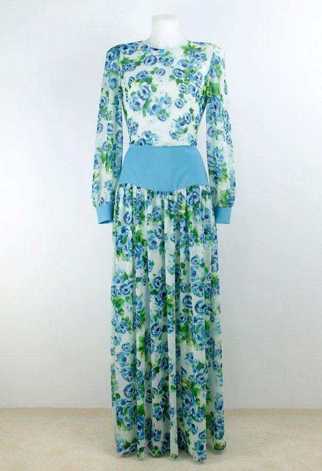 Image of FLOWERS MAXI DRESS