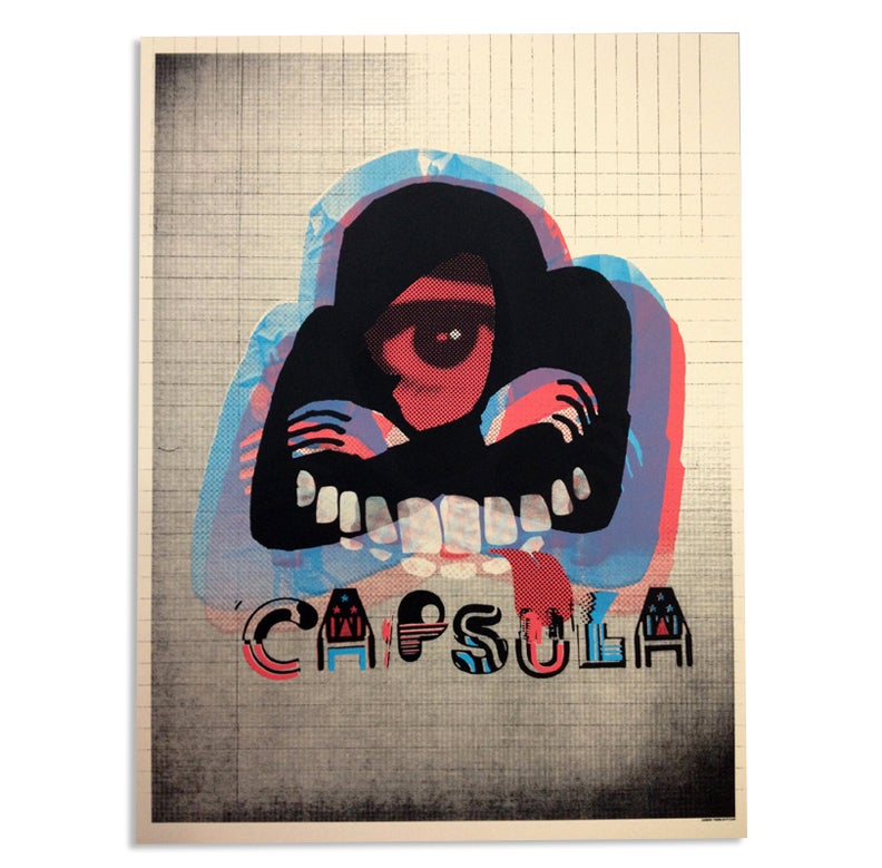 Image of Capsula Tour Poster