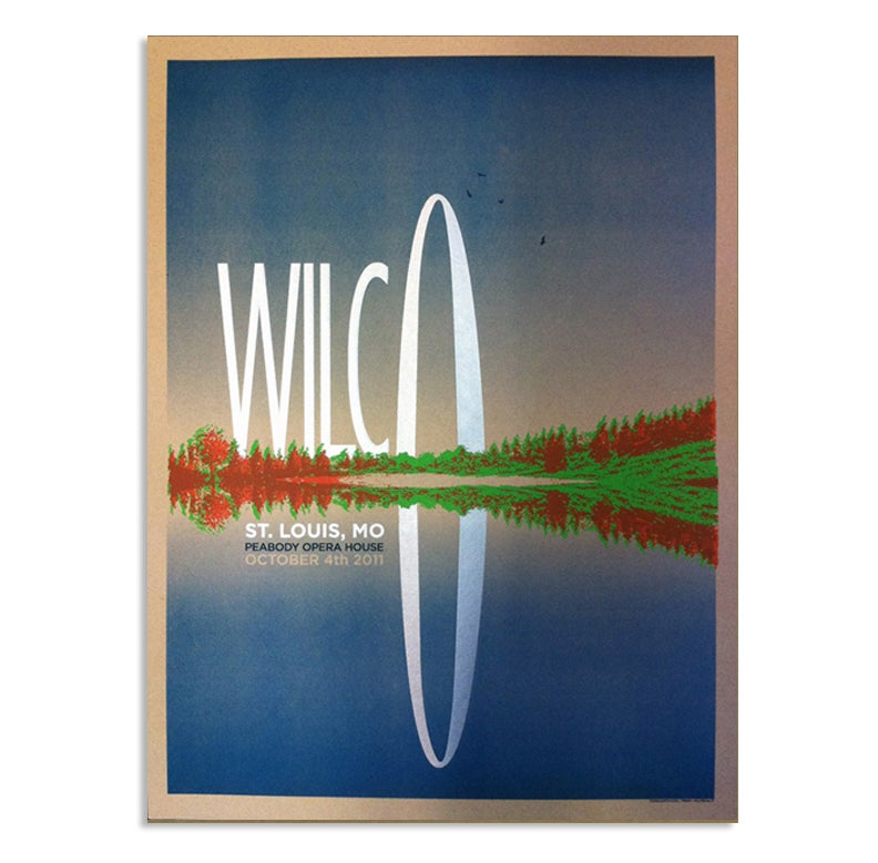 Image of Wilco St. Louis Arch Poster