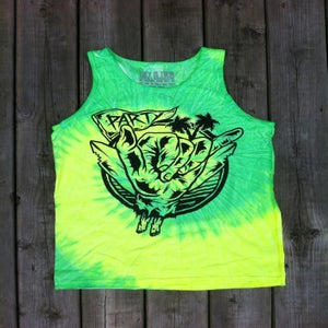 Image of Party Tank Tie dye