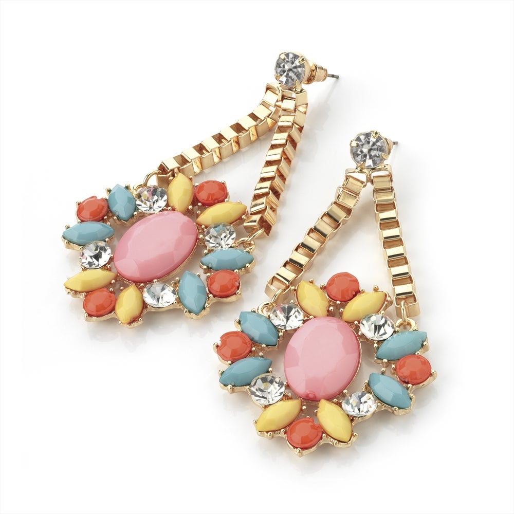 Image of Pastel Fever Dangle Drop Earring