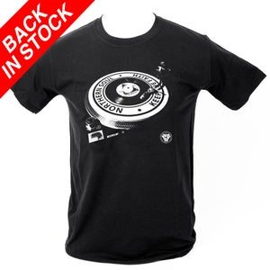 Image of Northern Soul - Turntable T-Shirt. BLACK