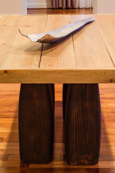 Image of Pillar 7' dining table