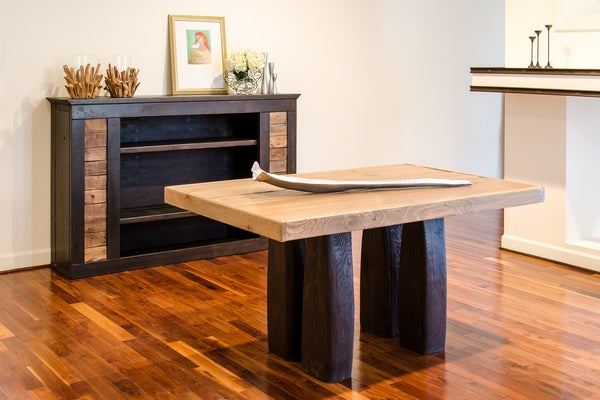 Image of Pillar 8' dining table