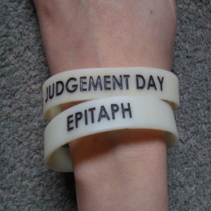 Image of Judgement Day Wrist Bands