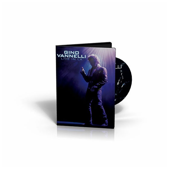 Image of  Gino Vannelli - Live In LA - DVD