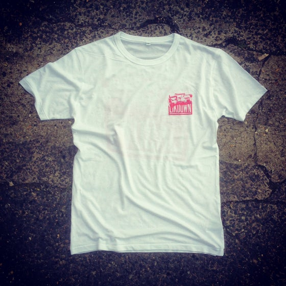 Image of THE LIK VX1000 TEE - WHITE/RED