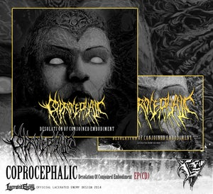 Image of COPROCEPHALIC - Desolation Of Conjoined Embodiment EP