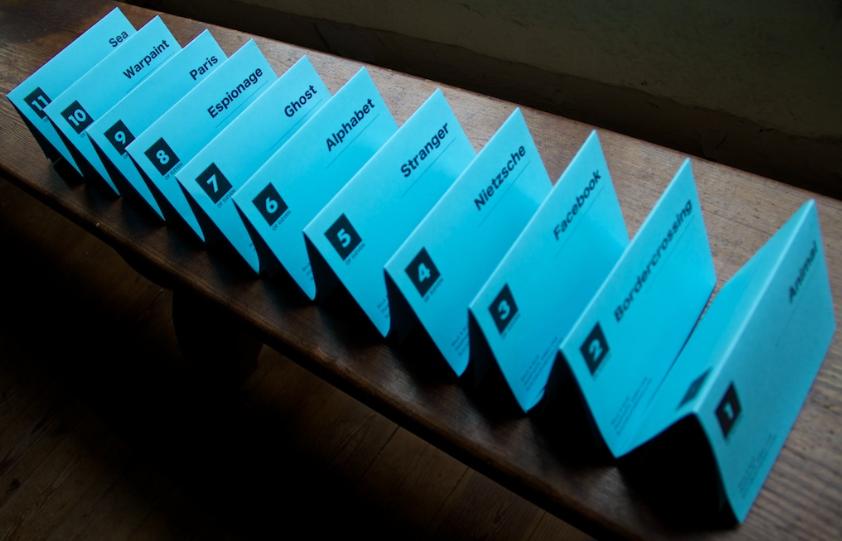 Image of Black & BLUE Pamphlets