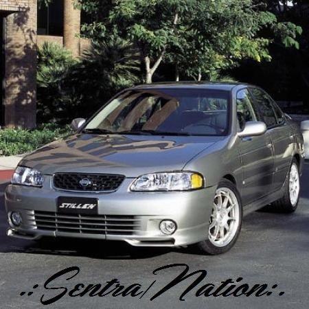 Image of (B15) STILLEN 00-02 Nissan Sentra Front Lip Spoiler (non SE-R/SpecV)