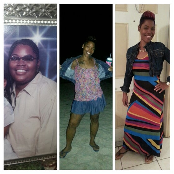 """Image of Before/After: (Waist Traing and Herbalife) """"Cre"""""""