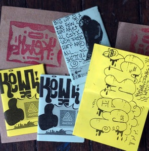 Image of KEWL- mini zine