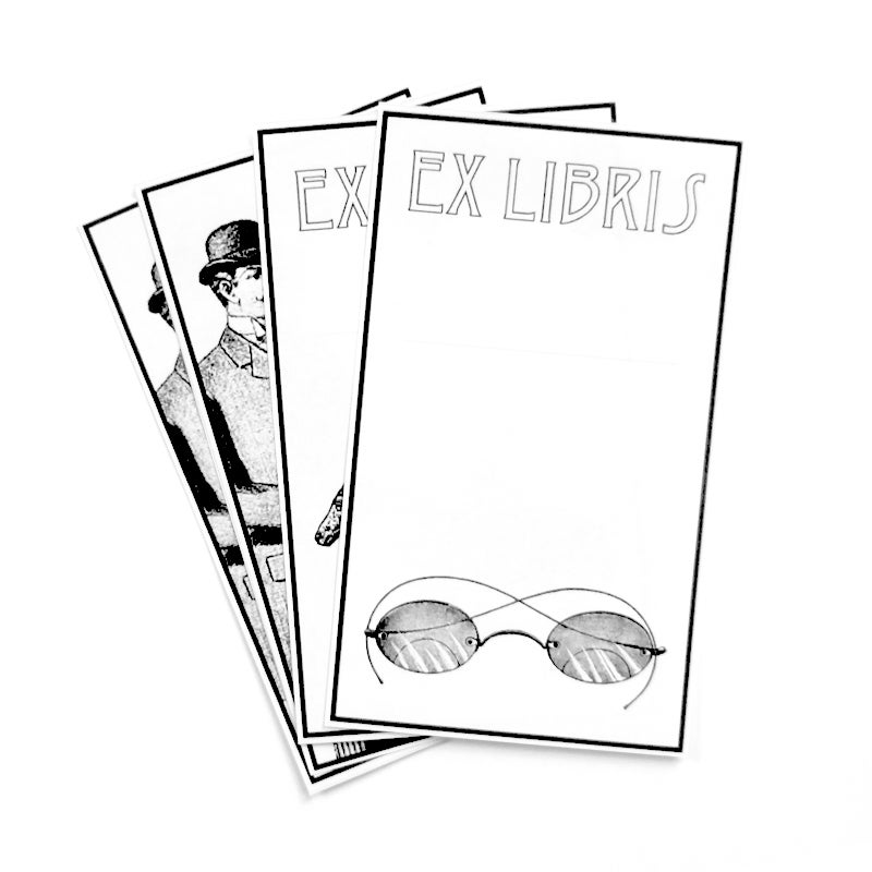 Image of Set of 8 Bookplates