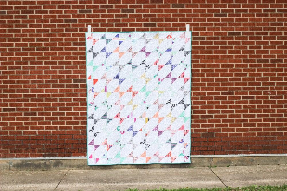 Image of Fractal Quilt PAPER Pattern