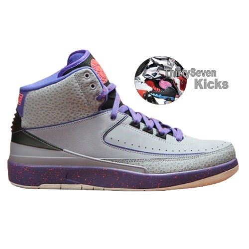 "Image of Jordan Retro 2 ""Iron Purple"""