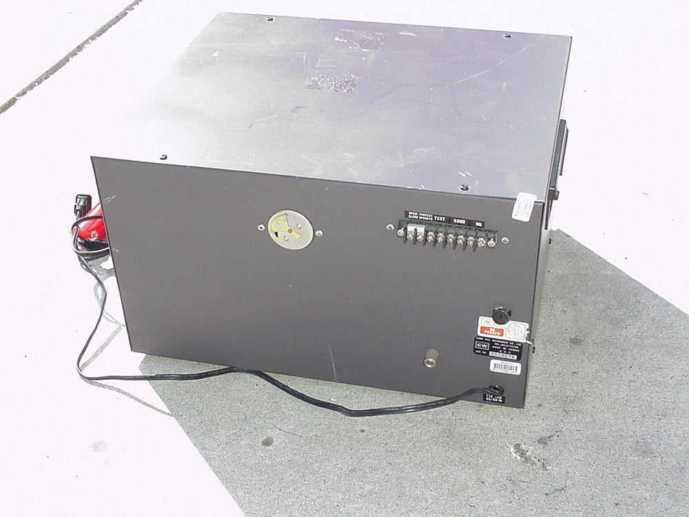 Image of GW MODEL NO GPT-515AD WITHSTANDING VOLTAGE TESTER