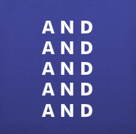 Image of ANDANDANDANDAND Bag (Bleach Wash,Black, Blue, or Orange)