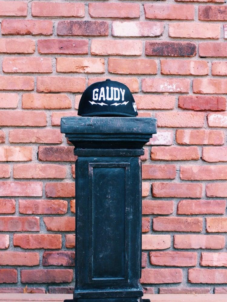 Image of Gaudy Gods SnapBack ⚡ [Black]