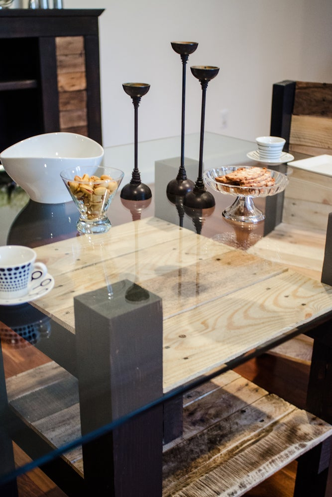 Image of Morgan 4' parsons dining table