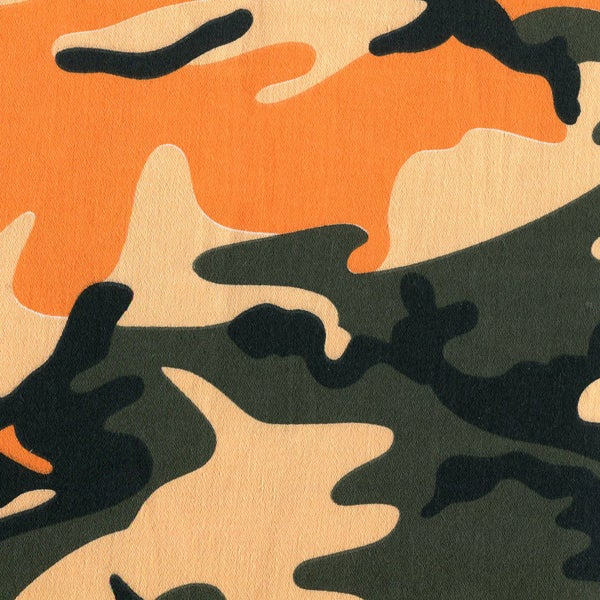 Image of Tshirt Camo Orange