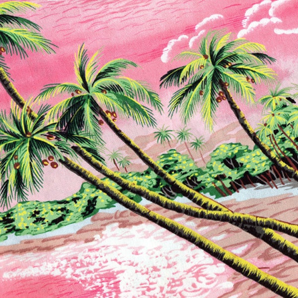 Image of Tshirt Hawaïen Rose