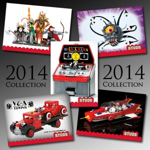 Image of The V&A Steamworks 2014 STUDS card collection