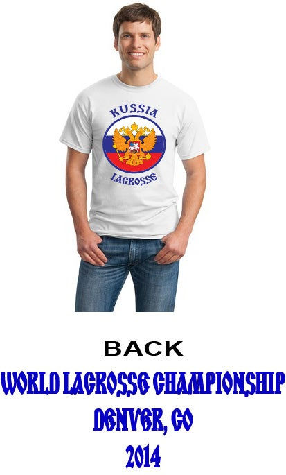 Image of Russia Lacrosse Tee 1