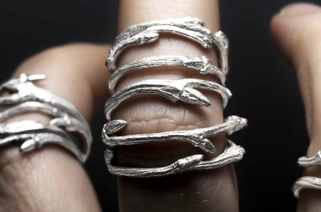 Image of Elvish Band <br> Set of 3 Rings