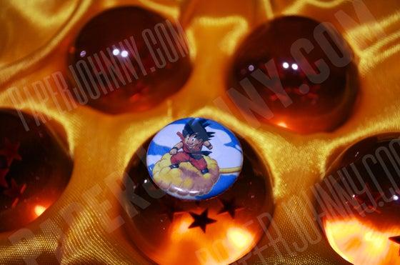 Image of Kid Goku Button