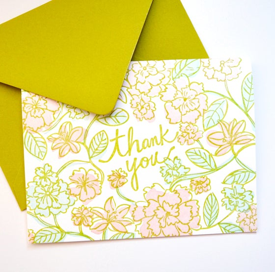 Image of Floral Card No. 2