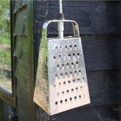 Image of Vintage Cheese Grater Light