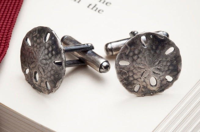 Image of Sand Dollar <br>Cufflinks
