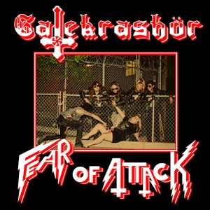 "Image of Calgary's Gatekrashör ""Fear Of Attack"" 12"" EP"