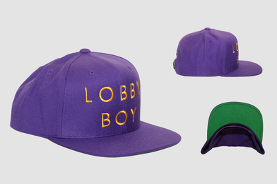 Image of Lobby Boy OG Purp Snapback
