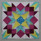 Image of Drop Dead Gorgeous Paper Pieced Quilt Block Pattern