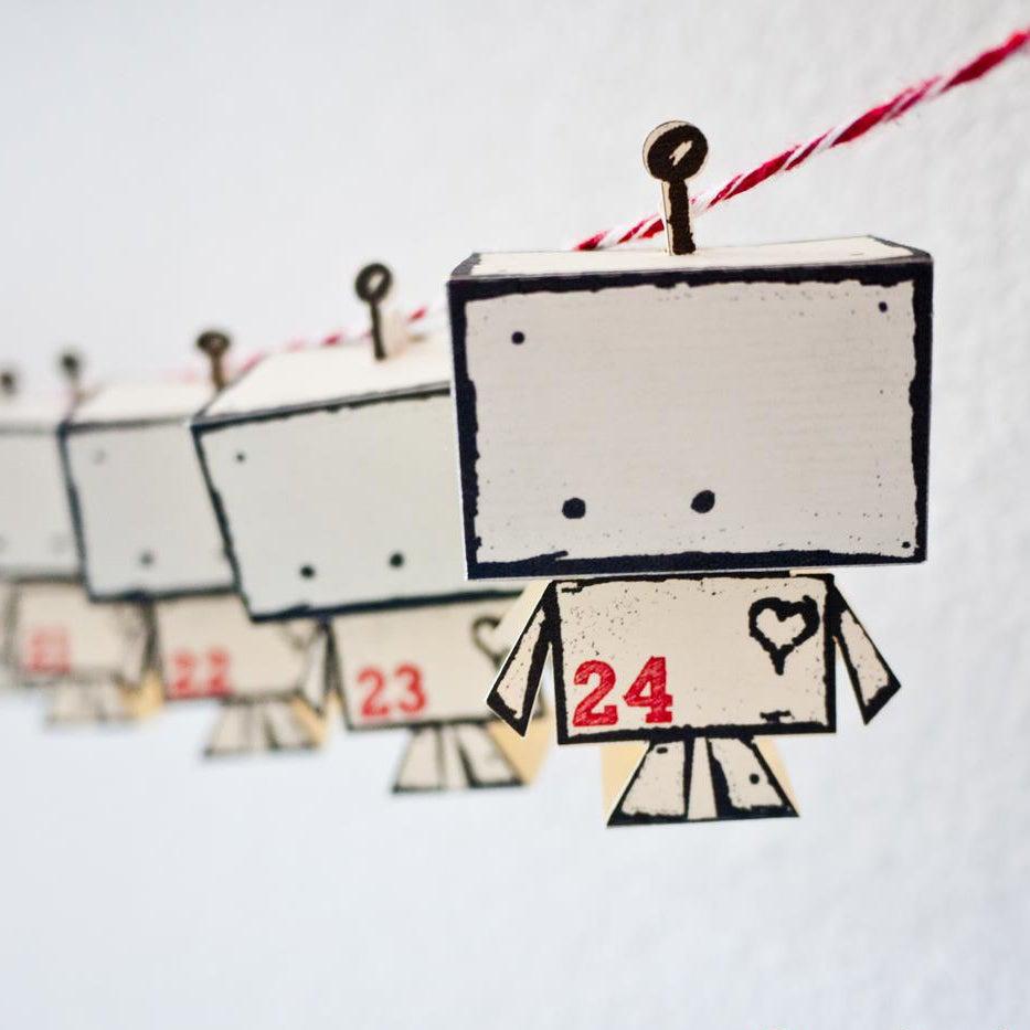 Image of Digital Download Little Mr Robot Advent