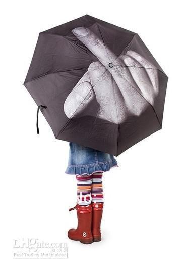 Image of Middle Finger Umbrella