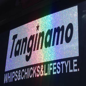 Image of TL WHIPS&CHICKS&LIFESTYLE BOX LOGO DECAL small