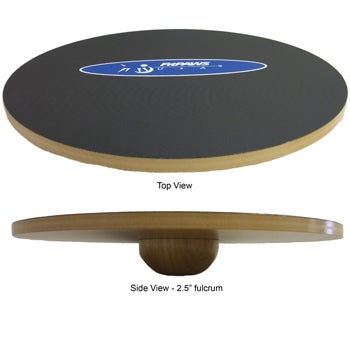 """Balance Board Exercises Benefits: FitPAWS® 20"""" Wobble Board"""