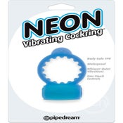Image of Neon Vibrating Cockring Waterproof